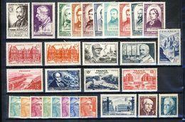 France 1948  - Année Complète -  Yvert Du N°793 Au N°822 N** - 1940-1949