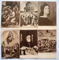 LOT OF11 DIFFERENT OLD POSTCARDS - RAFFAELO SANTI - Postkaarten