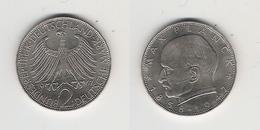 BRD  2 DM  1967 J Planck Bfr - [ 7] 1949-… : FRG - Fed. Rep. Germany