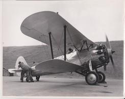 BRISTOL BULLDOG G-ABBB AFTER RESTORATION  RAF VULCAN BOMBER  24 * 20  CM Aviation, AIRPLAIN, AVION AIRCRAFT - Aviation