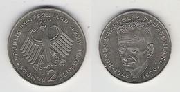 BRD  2 DM 1970 J Schumacher Bfr - [ 7] 1949-… : FRG - Fed. Rep. Germany