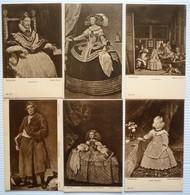 LOT OF11 DIFFERENT OLD POSTCARDS - VELAZQUEZ - Postkaarten