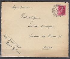 Briefstuk Van Nismes Naar Anvers - Belgique
