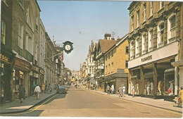 CP Winchester The High Street Hampshire Angleterre Royaume Uni - Winchester