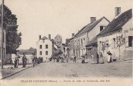 VILLE-EN-TARDENOIS (Marne) Entrée De Ville En Tardenois Coté Est (café De La Gare) Circulée 1916 - France
