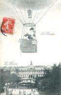 N°70857 -cpa Le Havre -A Bientôt-montgolfière- - Montgolfières