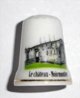 De A Coudre En Porcelaine  Chateau  Noirmoutier - Dés à Coudre