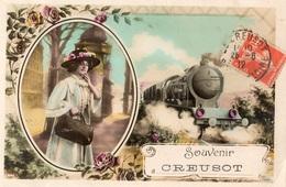 SOUVENIR DU CREUSOT - Le Creusot