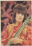 Ron Wood Rolling Stones - Panini Card From Yugoslav Rock Magazine Dzuboks ( Jukebox ) # 66 - Photos