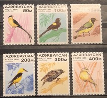 Azerbaijan, 1996, Mi: 313/18 (MNH) - Cuckoos & Turacos