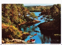 POSTCARD CARTOLINA IRLANDA - GLENGARRIFF - THE BLUE POOL, BANTRY BAY, CO. CORK IRELAND - 1970 - Irlanda