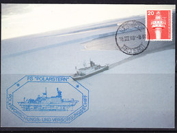 Germany 1988 Polarstern Postcard Ca Cape Town 18 III 88 Paquebot, Ca Polarstern (41993) Promotion - Postzegels