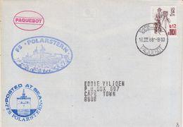 China 1988 Cover Ca Cape Town 18 III 88 Paquebot, Ca FS Polarstern (41994) - Postzegels