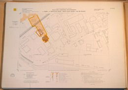 ATLAS DES CARRIERES SOUTERRAINES DE PARIS, HAUTS-DE-SEINE 92: Feuille 12-32, 1971? NANTERRE - Plan IGC - Topographische Kaarten