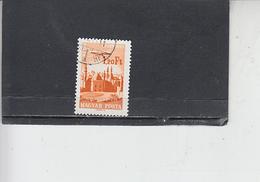 UNGHERIA  1966-7   - Yvert   A 283 - Il Cairo E Aereo - Posta Aerea