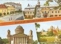 01/FG/19 - UNGHERIA - UDVZLET ESZTERGOMBOL. Vedutine - Ungheria