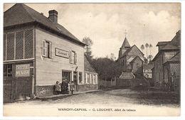 WANCHY CAPVAL (76) - G. LOUCHET, Debit De Tabacs - France