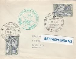 LSC 1964  - ESPERANTO -  Congrès ESPERANTO à BRUXELLES / BRUSSEL Et Timbres - Esperanto