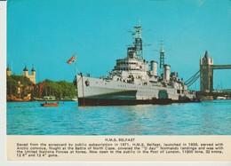 C. P.  - PHOTO - H. M. S. BELFAST - PT9937 - ST IVES - Guerre