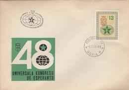 LSC 1963  - ESPERANTO -  BULGARIE - Congrès D'ESPERANTO à SOFIA - Esperanto