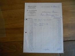 LOT 2 FACTURES AVON FONTAINEBLEAU  LAFITTE GARAGE DE LA GARE SELLERIE AUTOMOBILE  97 AVENUE DE VALVINS 1929/1932 TTB ETA - France