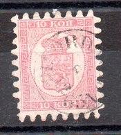 Sello De Finlandia Nº Yvert 4 (o) OFERTA (OFFER) Valor Catálogo 90.0€ - Used Stamps