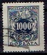 POLAND  #  FROM 1923 - Portomarken