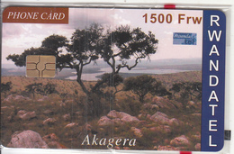 RWANDA - Akagera, First Chip Issue 1500 Frw, Mint - Rwanda