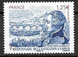 France 2016 N° 5044 Neuf Navigation à Vapeur à La Faciale - Neufs
