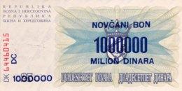 Bosnia 1 Million Dinara, P-35b (10.11.1993) - UNC - Bosnien-Herzegowina