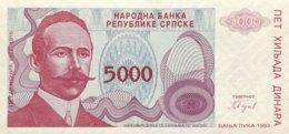 Bosnia 5.000 Dinara, P-149 (1993) - UNC - New Pick Number: 152 - Bosnien-Herzegowina