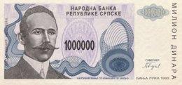 Bosnia 1 Million Dinara, P-152 (1993) - UNC - New Pick Number: 155 - Bosnien-Herzegowina