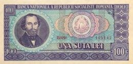 Romania 100 Lei, P-97 (1966) - UNC - Rumänien