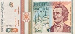 Romania 1.000 Lei, P-102 (1993) - UNC - Rumänien