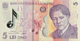 Romania 5 Lei, P-118b (1.7.2005/2006) - UNC - Rumänien