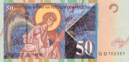 Macedonia 50 Denari, P-15c (1.2001) - UNC - Mazedonien
