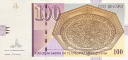 Macedonia 100 Denari, P-16i (9.2008) - UNC - Mazedonien