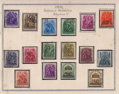 HUNGRIA 1938 -  LOT OF STAMPS OF HUNGARY FROM PRIVATE COLLECTION (SEE IMAGE) - Collezioni