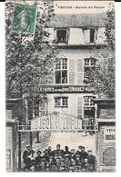 """Cpa Troyes - Maison Du Peuple  /  """"Prolétaires De Tous Pays , Unissez-vous"""". - Troyes"""