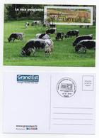 Atm, Brother,CARTE MAXIMUM, Vache, Vosges,salon De L'agriculture, IP1.30€, Issue Du Pack De 4 Valeurs Vendu Sur Le Stand - 2010-... Geïllustreerde Frankeervignetten