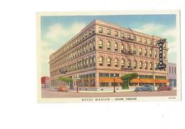 Cpa - Oregon - Salem Hotel Marion - Voiture - Voiture - Coffee Shop - Salem