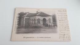 *CALLOO Het Gemeentehuis -La Maison Communale  Animée  Oblitéré En 1902 - Beveren-Waas