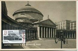 43196 Italia, Maximum 2016 Piazza Plebiscito, Napoli , Architecture, Vintage Card - Cartas Máxima