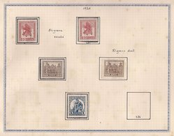 HUNGRIA 1920 -  LOT OF STAMPS OF HUNGARY FROM PRIVATE COLLECTION (SEE IMAGE) - Collezioni