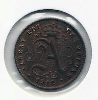 1 Cent 1912 Frans * Prachtig * Nr 5187 - 1909-1934: Albert I