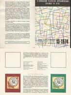 J) 1974 MEXICO, WITHOUT STAMPS, V INTERAMERICAN PHILATELIC EXHIBITION, EFILMEX 74, UPU, FDB - Mexico