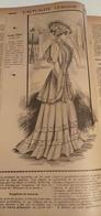 L'ACTUALITE FEMININE-DESSIN DE MODE-SIGNEE CARMEN- PUB ISSUE D'UN  VIEUX JOURNAL DE 1907 - Patterns