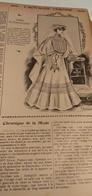 L'ACTUALITE FEMININE-DESSIN DE MODE-SIGNEE CARMEN- PUB ISSUE D'UN  VIEUX JOURNAL DE 1907 - Patrons