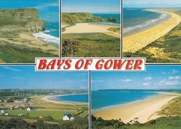 CP - Bays Of Gower  - Non Ecrite - - Pays De Galles