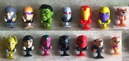 14 Marvel Avengers Megapopz Carrefour Thor Thanos Wasp Hulk - Gargamella E Birba - Non Classificati